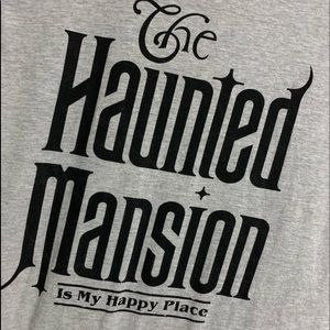Brand new Haunted Mansion is my happy place Tshirt